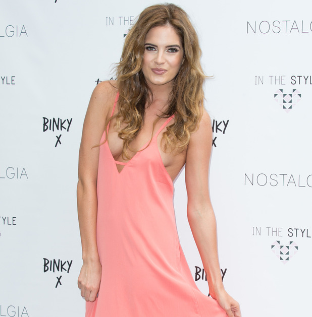 Binky Felstead at In The Style photo call August 2016