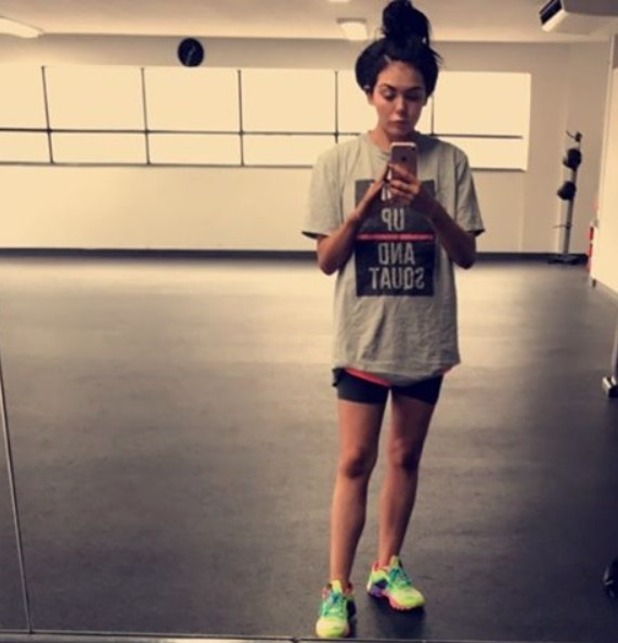 Scarlett Moffatt splits opinion with latest gym selfie - 6 October 2016