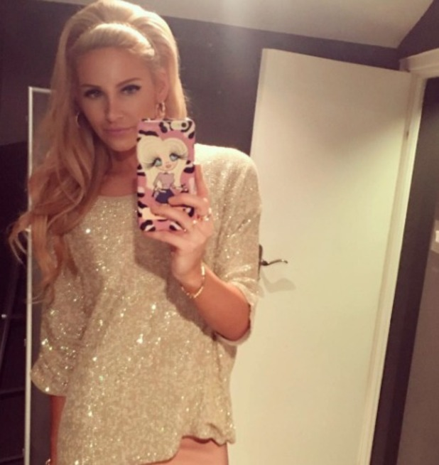 Stephanie Pratt's #stephabella selfie, 28 September 2016