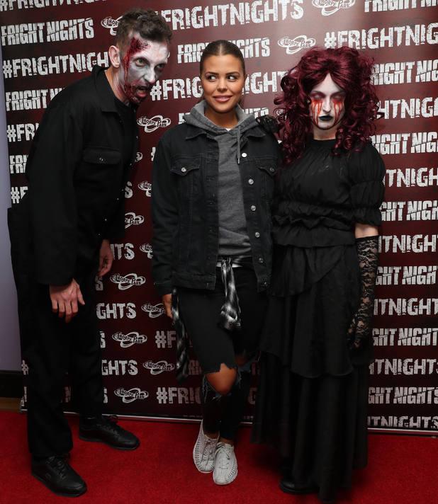 Fright Nights launch at Thorpe Park, Chertsey, UK - 06 Oct 2016