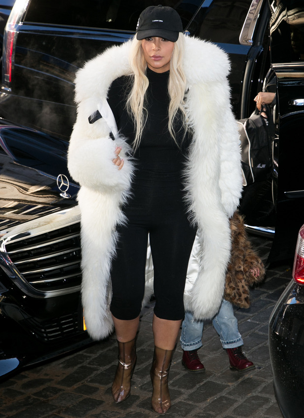 Kim Kardashian out and about in New  York February 14 2016