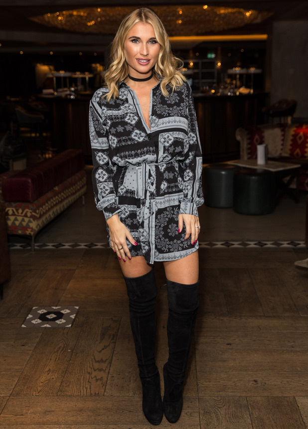 Former TOWIE star Billie Faiers attends the In The Style photocall, London, 6 October 2016