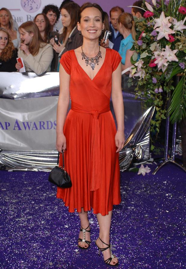 Emmerdale's Leah Bracknell at the British Soap Awards in 2006