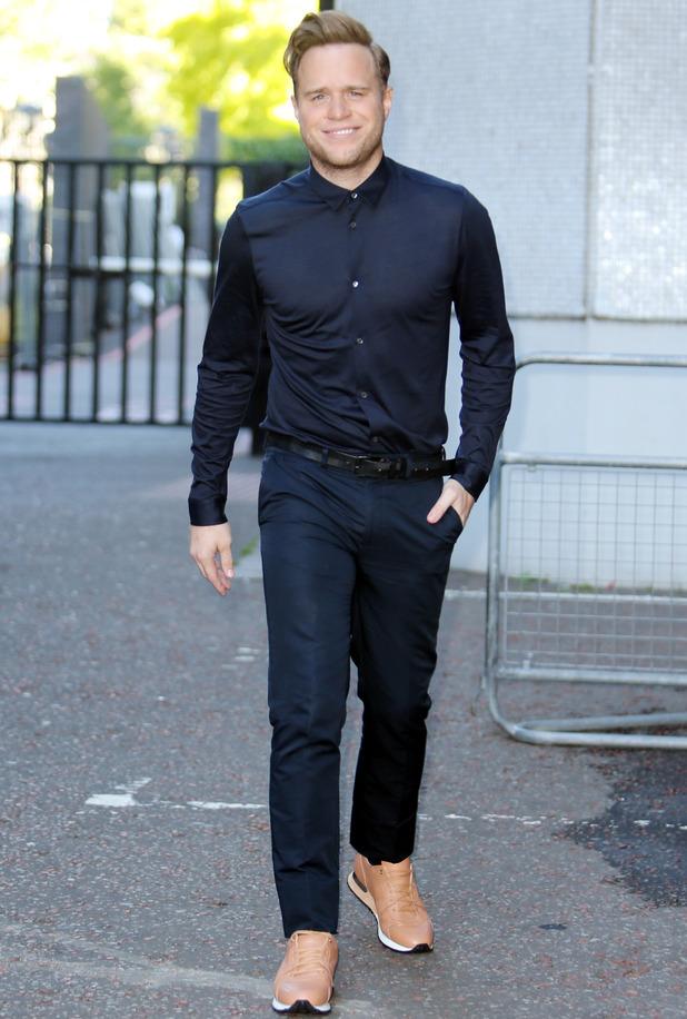 Olly Murs outside ITV Studios, London 12 August