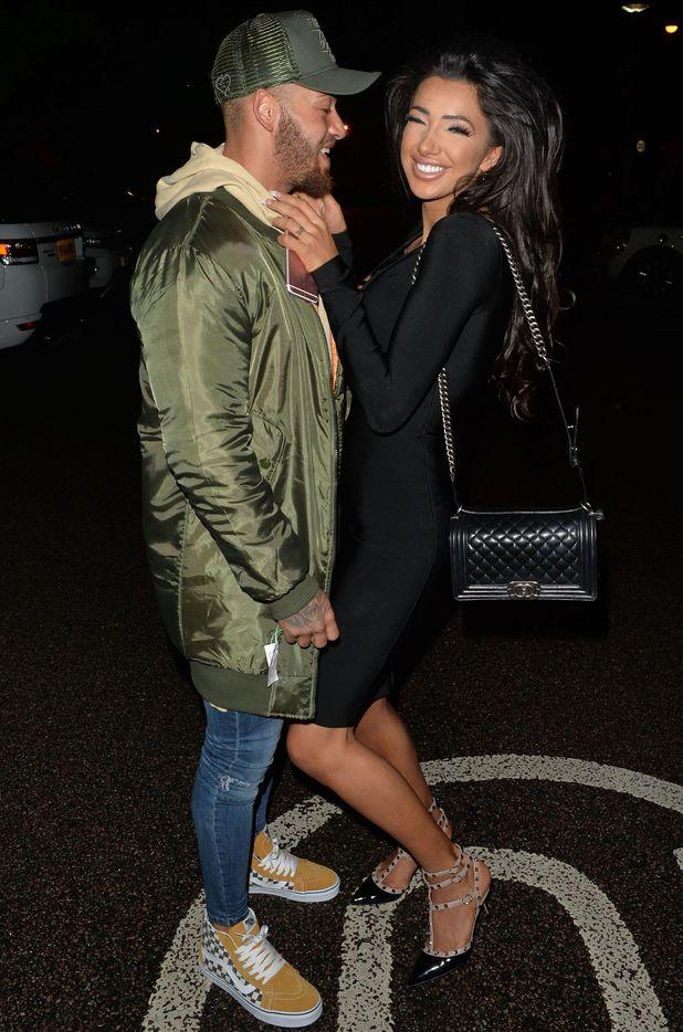 Ashley Cain and Chloe Khan, London 2 October