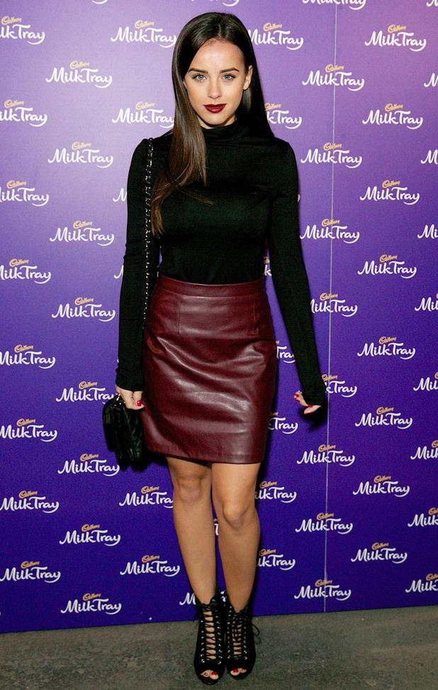 Former Coronation Street star Georgia May Foote attends the Cadbury Milk Tray Man advert launch, London 6 October 2016