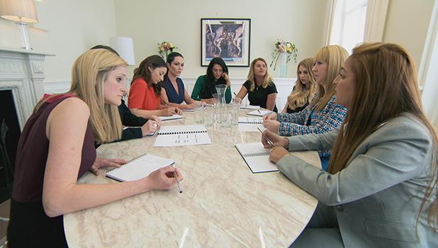 The Apprentice: Women in task one 6 October 2016