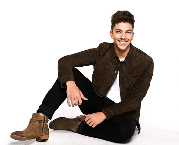 X Factor makeover photos 2016 Matt Terry