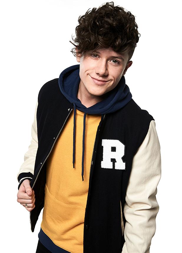 X Factor makeover photos 2016 Ryan Lawrie
