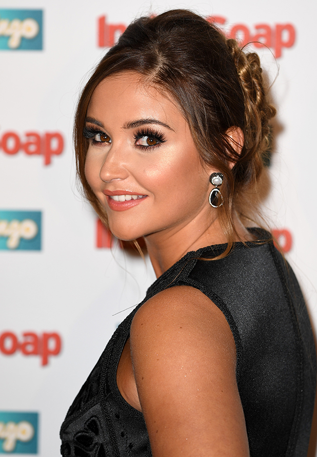 Jacqueline Jossa attends the Inside Soap Awards at The Hippodrome on October 3, 2016 in London, England. (Photo by Gareth Cattermole/Getty Images)
