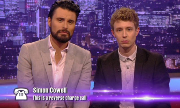 X Factor: Rylan and Matt on Xtra Factor talking to Simon Cowell 2 October 2016