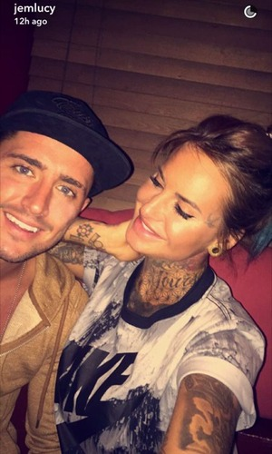 Jem Lucy and Stephen Bear, Snapchat 10 October