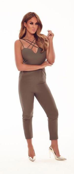 Vicky Pattison launches new Honeyz collection, jumpsuit £35.99, 14 October 2016