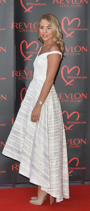 TOWIE star Lydia Bright at the Revlon Choose Love Ball, London, 21 July 2016