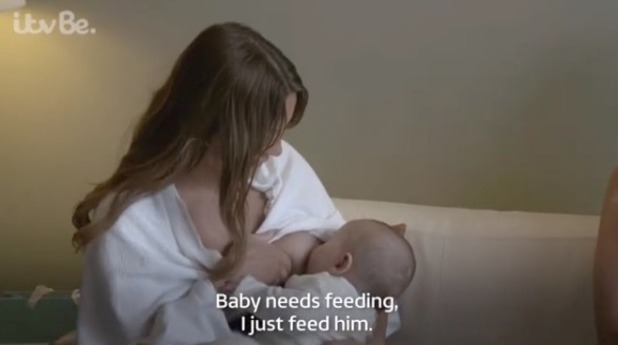 Sam Faiers breastfeeds baby Paul in new clip - 11 Oct 2016