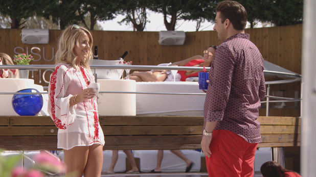 TOWIE Series 19, Episode 1: Lydia and Arg 9 October 2016