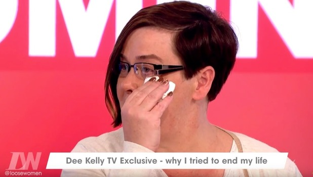 Dee Kelly speaks candidly about depression, Loose Women, ITV 10 October