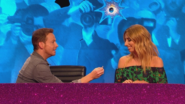 Joe Swash proposes to Stacey Solomon on Celebrity Juice 13 October