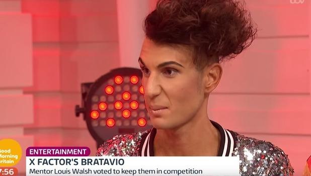 Ottavio, Good Morning Britain, ITV 10 October