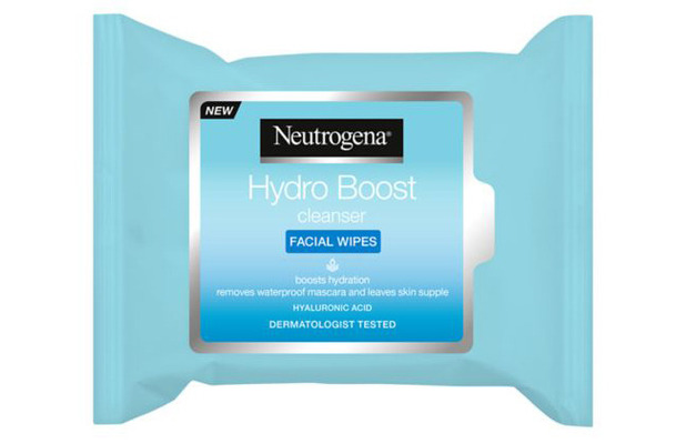 Neutrogena Hydro Boost Cleansing Facial Wipes £4.99 10 October 2016