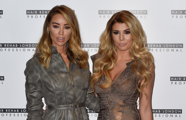 Love Island star Olivia Buckland attends the Hair Rehab London launch with Lauren Pope, 10 October 2016