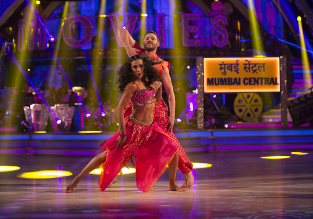 Will Young and Karen Clifton on Strictly Come Dancing 9 October 2016