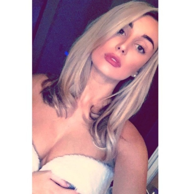Love Island star Rachel Fenton shows off shorter hair on Instagram, 12 October 2016