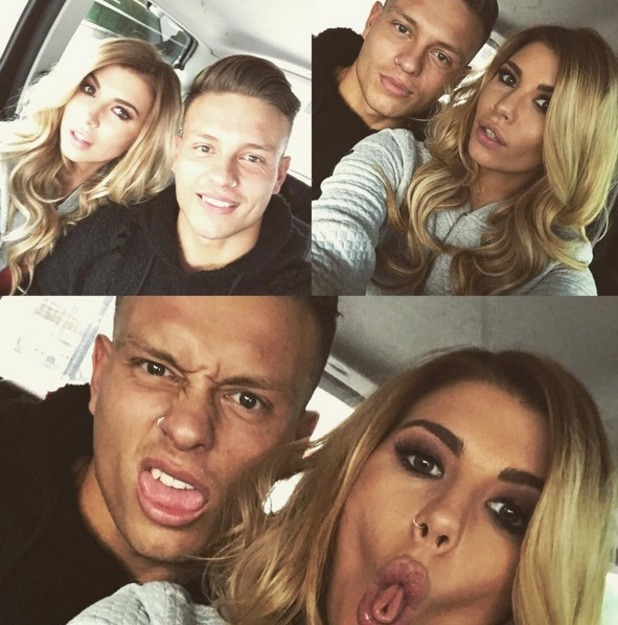 Olivia Buckland and Alex Bowen, Instagram 10 October