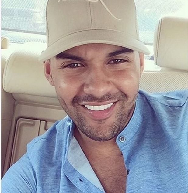 Troy Frith on holiday in Dubai October 2016