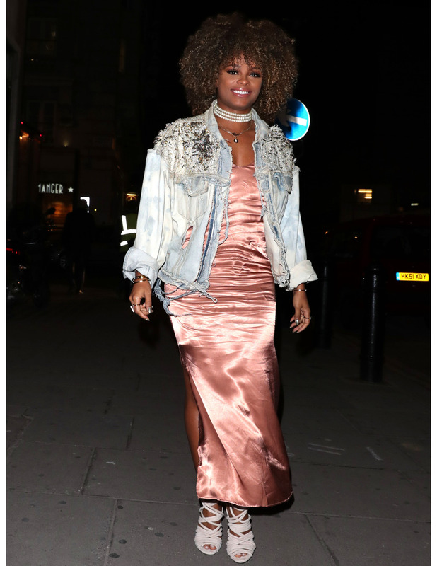 X Factor singer Fleur East attends the Pretty Little Thing x Sofia Ritchie launch party, London, 13 October 2016