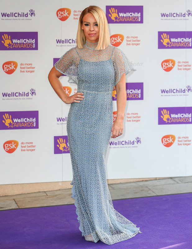 Katie Piper at the WellChild Awards, London 10 October 2016