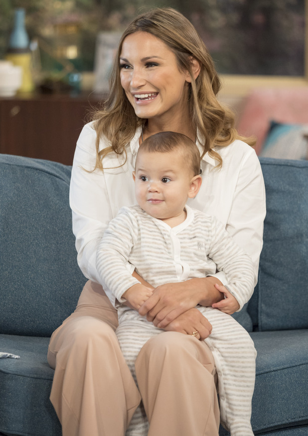 'This Morning' TV show, London, UK - 12 Oct 2016 Sam Faiers and baby Paul