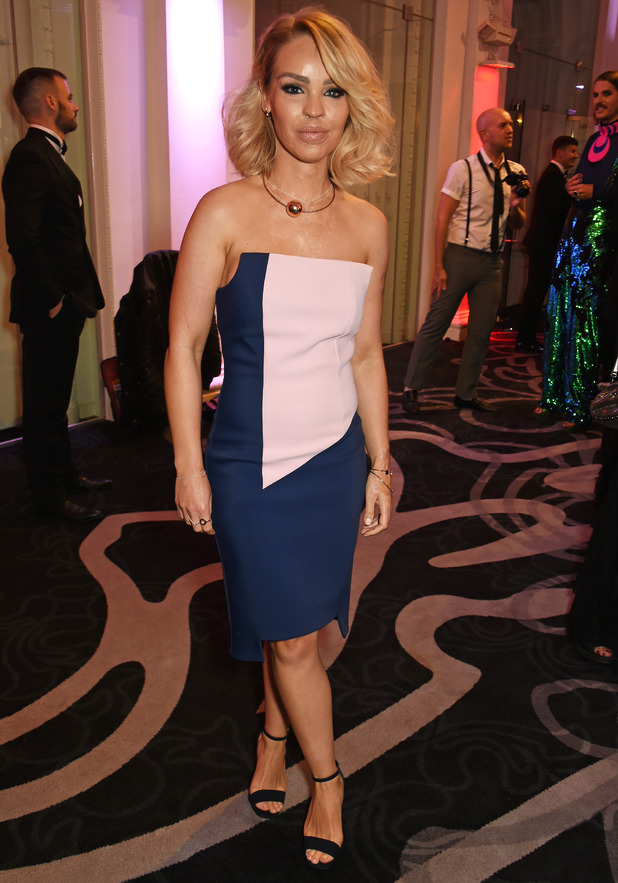 Katie Piper attends the Attitude Awards 2016 in association with Virgin Holidays at 8 Northumberland Avenue on October 10, 2016 in London, England.