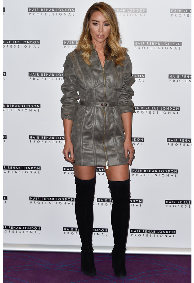 Former TOWIE star Lauren Pope at the Hair Rehab London launch party, London, 10 October 2016