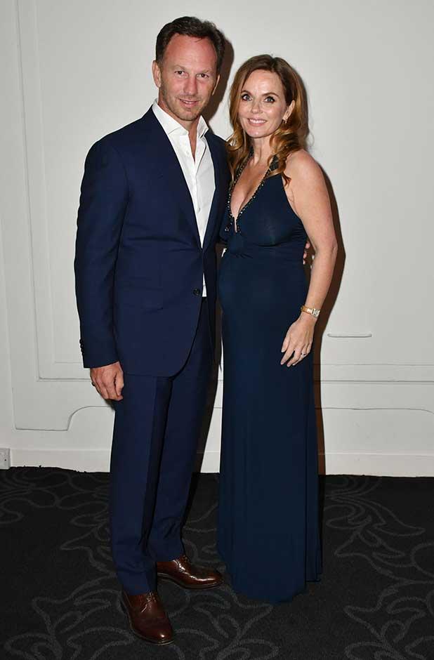 Attitude Magazine Awards, London, UK - 10 Oct 2016 Geri Halliwell and husband Christian Horner