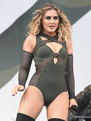 Perri Edwards of 'Little Mix' performs during the V Festival at Hylands Park on August 20, 2016 in Chelmsford, England. (Photo by Stuart C. Wilson/Getty Images)