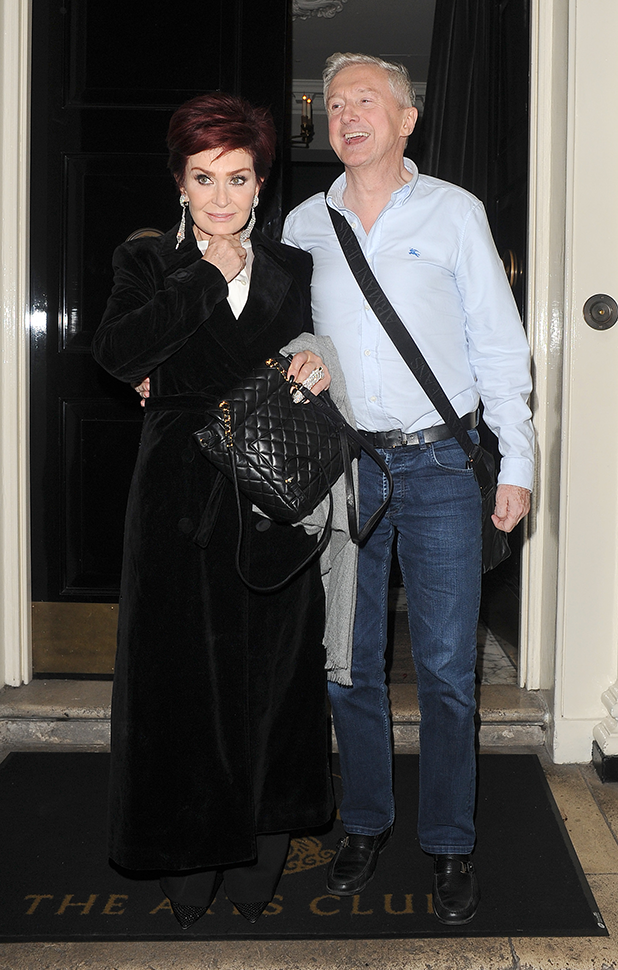 Sharon Osbourne's birthday at Arts Club London: Louis Walsh 9 October 2016