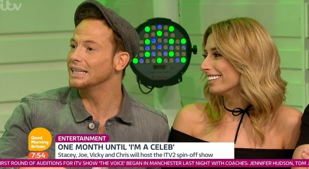 Stacey Solomon and Joe Swash on GMB 19 October 2016