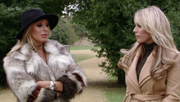 TOWIE: Amber Dowding and Chris Clark discuss relationship 19 October