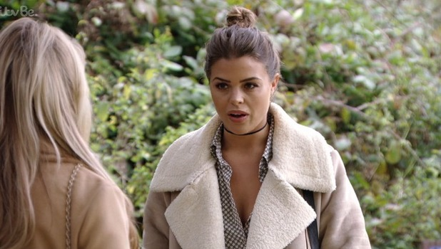 TOWIE: Chloe Lewis and Kate Wright clash 19 October