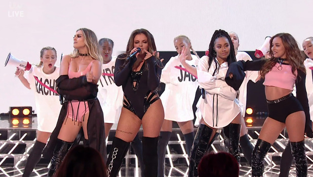 Little Mix perform on The X Factor, 16 October
