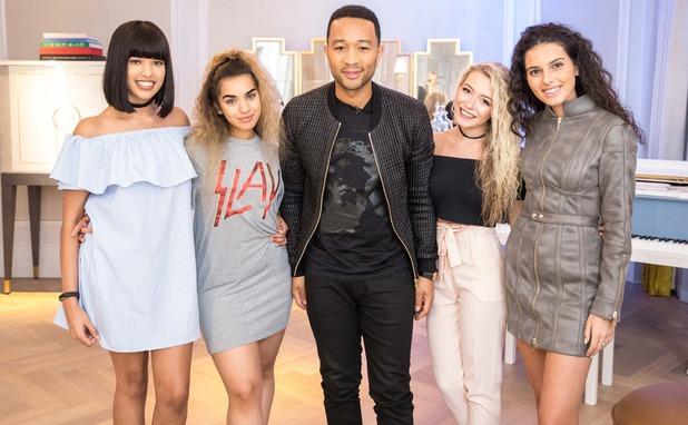 John Legend X Factor masterclass: Four of Diamonds 21 October