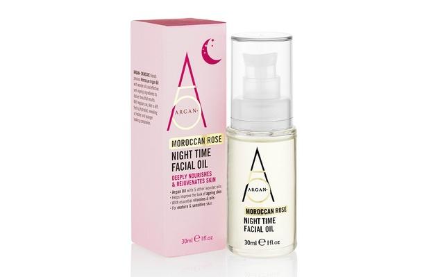 Argan+ Moroccan Rose Night Time Facial Oil £12.99 17 October 2016