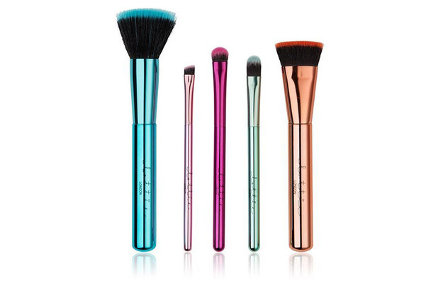 Lottie London The Best of Brushes Metallic Collection £27.99 17 October 2016