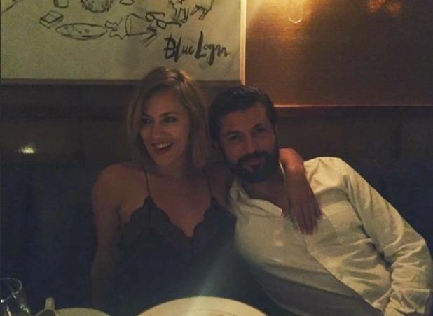 Caroline Flack and Blue Logan in LA - 17 October 2016