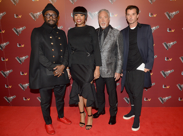 The Voice UK coaches promote the start of the blind auditions for The Voice UK, Manchester - 18 October 2016