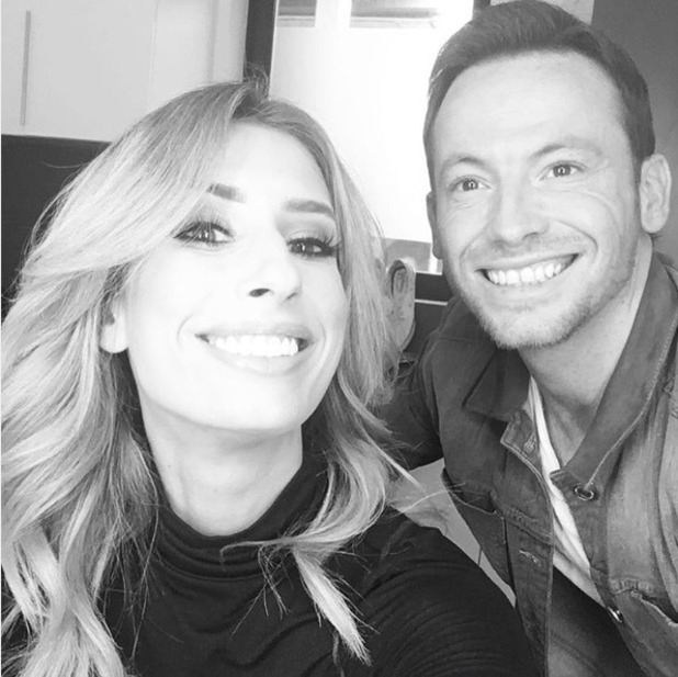 Stacey Solomon and Joe Swash rehearse for I'm A Celebrity...Get Me Out Of Here! 2016 - 17 October 2016