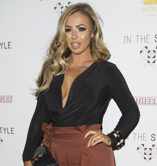 Holly Hagan attends In The Style's third birthday party 7 October