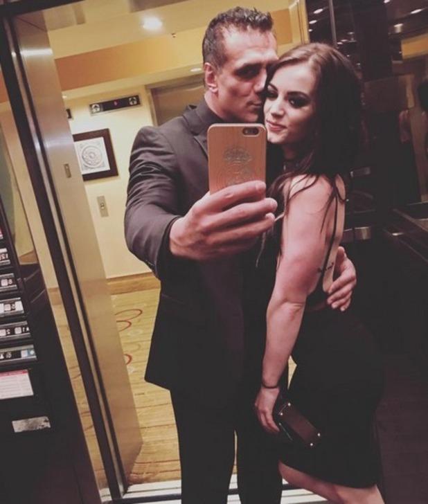 Total Divas star Paige and boyfriend Alberto Del Rio July 2016