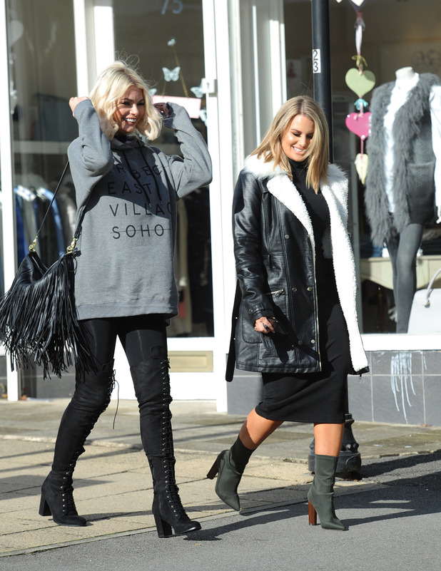 TOWIE star Chloe Sims out and about in Essex, 17 October 2016